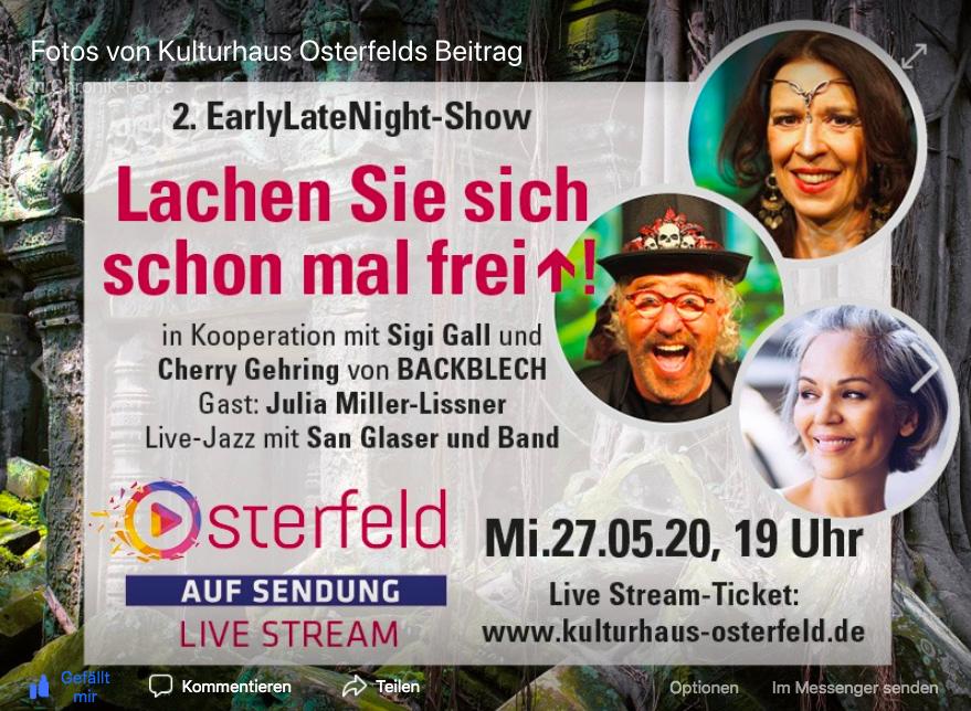 Foto Osterfeld Ankündigung